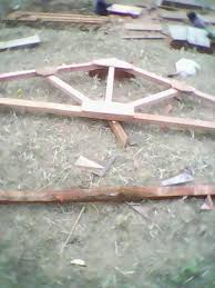 is there any calculation and procedure for timber roof truss