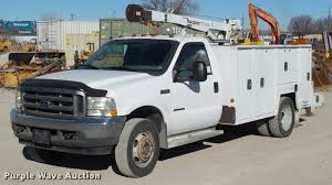 100 Service Truck With Crane For Sale 2002 D F550 Service Truck With Crane Item DA4020 SOLD