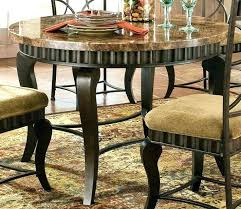 Dining Room Sets Orlando Silver Marble Top Table In Pewter Finish Used