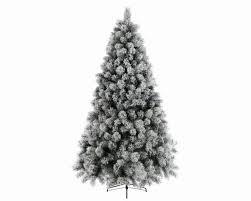 Kaemingk Everlands Vancouver Pine Snowy 8FT Artificial Christmas Tree