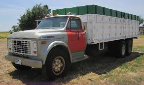 100 1969 Gmc Truck For Sale GMC 6500 Tandem Axle Grain Truck Item A3806 SOLD A