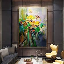 dekoration modern mädchen blumenaufdruck wand malerei