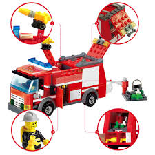 Building Block Sets Diy Toys Fire Engine Truck Toy Model Educational ... Large Fire Engine Truck 36cm Colctible Vintage Style Tin Plate Best Large Battery Operated Fire Truck For Sale In Prince Albert Amazoncom Children Engine Popup Playhouse Play Sprinkler Toy Electric Remote Control Car Waterjet Dickie Toys Action Brigade Vehicle Ebay City Brickset Lego Set Guide And Database Build The Clics Fire Engine Toy Extinguish Any Clictoys Promotional Stress Balls With Custom Logo 157 Ea Fun Trucks For Kids From Wooden Or Plastic That Spray Double E Rc Category Steel Tanker Firewolf Motors Hubley Late 1920s Ladder The Curious