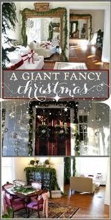 Holiday House Tour A Giant Fancy Christmas Victorian ChristmasDiy