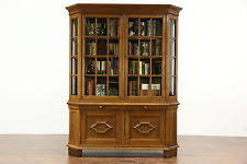 Breakfront Vs China Cabinet by German Furniture Ebay