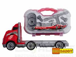 Big Daddy Big Rig Tool Master - Transport Toy Truck Carrier With ...
