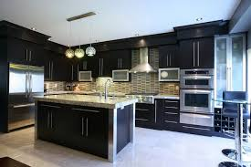Renovate Your Home Design Studio With Wonderful Ideal Kitchen Colors Dark Cabinets And Make It
