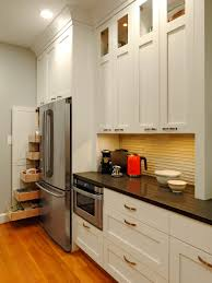 Corner Kitchen Cabinet Decorating Ideas by Staining Kitchen Cabinets Pictures Ideas U0026 Tips From Hgtv Hgtv