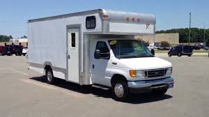 2005 Ford E-350 Box Truck Diesel Only 5,000 Miles For Sale ...