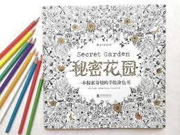 Secret Garden Books Handpainted Graffiti Coloring English Version By Johanna Basford Hot Sale Book Free From