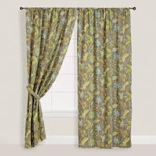 Bali Curtain Rods Jcpenney by Decor Decorative Penneys Curtains With Peel And Stick Walpaper