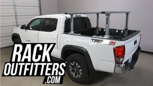 100 Pro Rack Truck Rack Toyota Tacoma Short Bed With Thule Xsporter 500XT Bed
