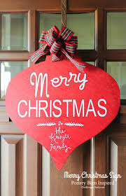 Merry Christmas Sign- Pottery Barn Inspired - Onekriegerchick 10 Decorating And Design Ideas From Pottery Barns Fall Catalog Best 25 Barn Colors Ideas On Pinterest A Barn Christmas Tree With All The Trimmings Trendingnow Twas Week Before Holiday Emails Began Pottery Christmas Catalog Workhappyus December 2016 Ideas Homes 20 Trageous Items In Kids Holiday Unique Fall The Decor From Liz Marie Blog Catalogue 2014 Catalogs