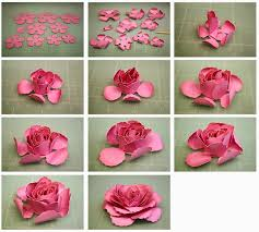 3D Dublin Elle And Hybrid Paper Tea Roses