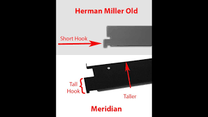 meridian and herman miller old style file cabinets comparing file