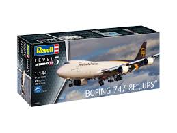 Revell 1/144 Boeing 747-8F UPS Model Kit - 03912 - £29.69