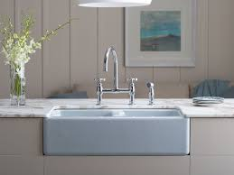 Kohler Riverby Top Mount Sink by Decor Elegant Design Of Top Mount Farmhouse Sink For Modern