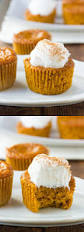 Crustless Pumpkin Pie by Gluten Free Crustless Pumpkin Pie Cupcakes Dairy Free Recipe