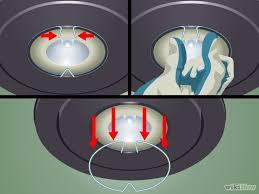 how to change a gu10 halogen light bulb