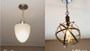 DIY Industrial Rustic Pendant Light