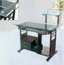 Tempered Glass Computer Desk by Small Tempered Glass Computer Desk 12 Interesting Tempered Glass