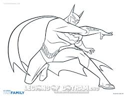 Batman Beyond Coloring Pages Becuo