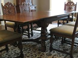 8 Antique Dining Room Tables And Chairs 1930s Furniture