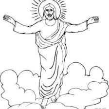 Resurrection Of Jesus Coloring Page
