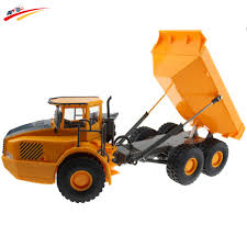 RC Toy 6CH Remote Control Big Dump Truck 6 Functional Loaded Sand ...