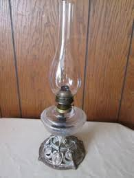 Lamplight Farms Oil Lamps Made In Thailand by One Unused Kaadan Clear Glass Hurricane Paraffin Or Oil Lamp W