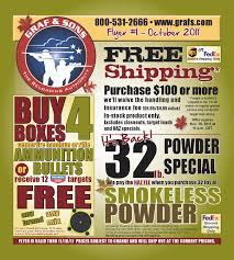 Graf & Sons Fall Retail Flyer 2011 By Graf & Sons, Inc - Issuu Barnes Ttsx Loose Archive Calgunsnet Corbon Ammunition Dpx 460 Sw Magnum Xpb 275 Grain 20 Rounds Black Powder Bullets Ammo Sportsmans Guide Federal Expander Gauge 2 34 58 Oz Sabot Slugs 5 What Bullet Is In Your Line 24hourcampfire Savage 220 20ga Hunting Equipment Lake Ontario United Cva Wolf Northwest Bullet Review The Big Game Blog Loading Me And The Ar15 121_tsjpg