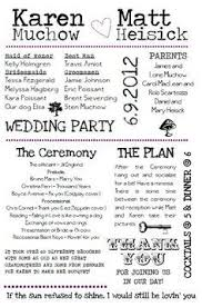 wedding day running order template Google Search