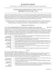 Retail Manager Resume Examples And Samples Best Of Resumes Example Sample Executive Supervisor Cv Uk