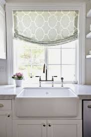 Kitchen Bay Window Over Sink by Accessories Kitchen Window Treatments Above Sink Best Kitchen