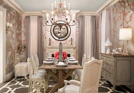 Amazing Dining Room Decor With White Classic Chairs Also Wooden Table Decors In Small Space Themes Furnishing Sets Ideas