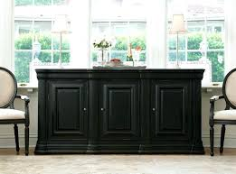 Dining Room Sideboards And Buffets Black Teak Buffet With White Padded Chairs Or Sideboard