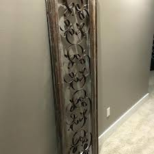 Antique Wood Wall Decor Smartness Inspiration And Iron Find More Wrought Framed Rustic
