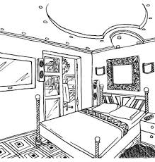 Bedroom Clipart by Clip Art Black And White Bedroom Clipart Clip Art Library