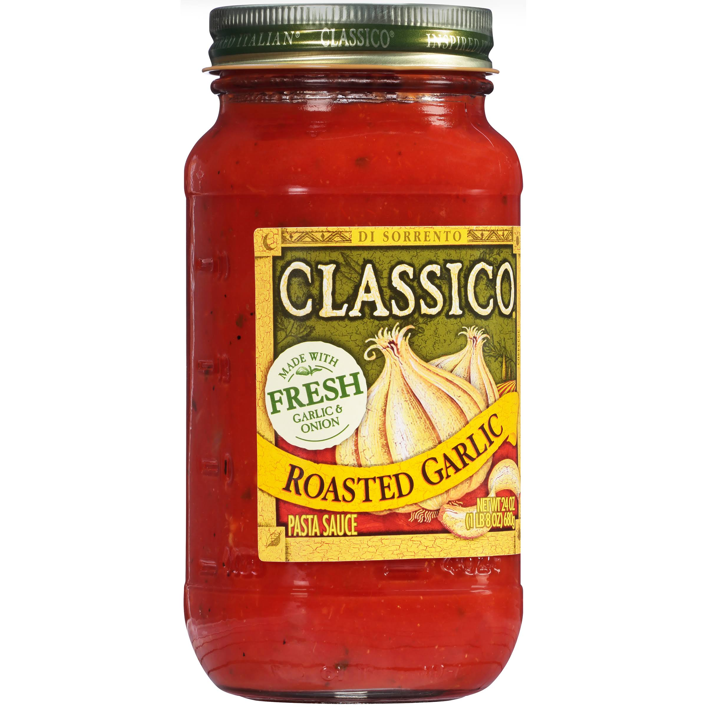 Classico Traditional Favorites Pasta Sauce - 24oz, Roasted Garlic