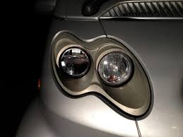 led headlights smart car forums