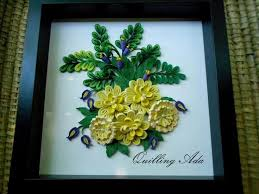 Quilling On Picture Frames