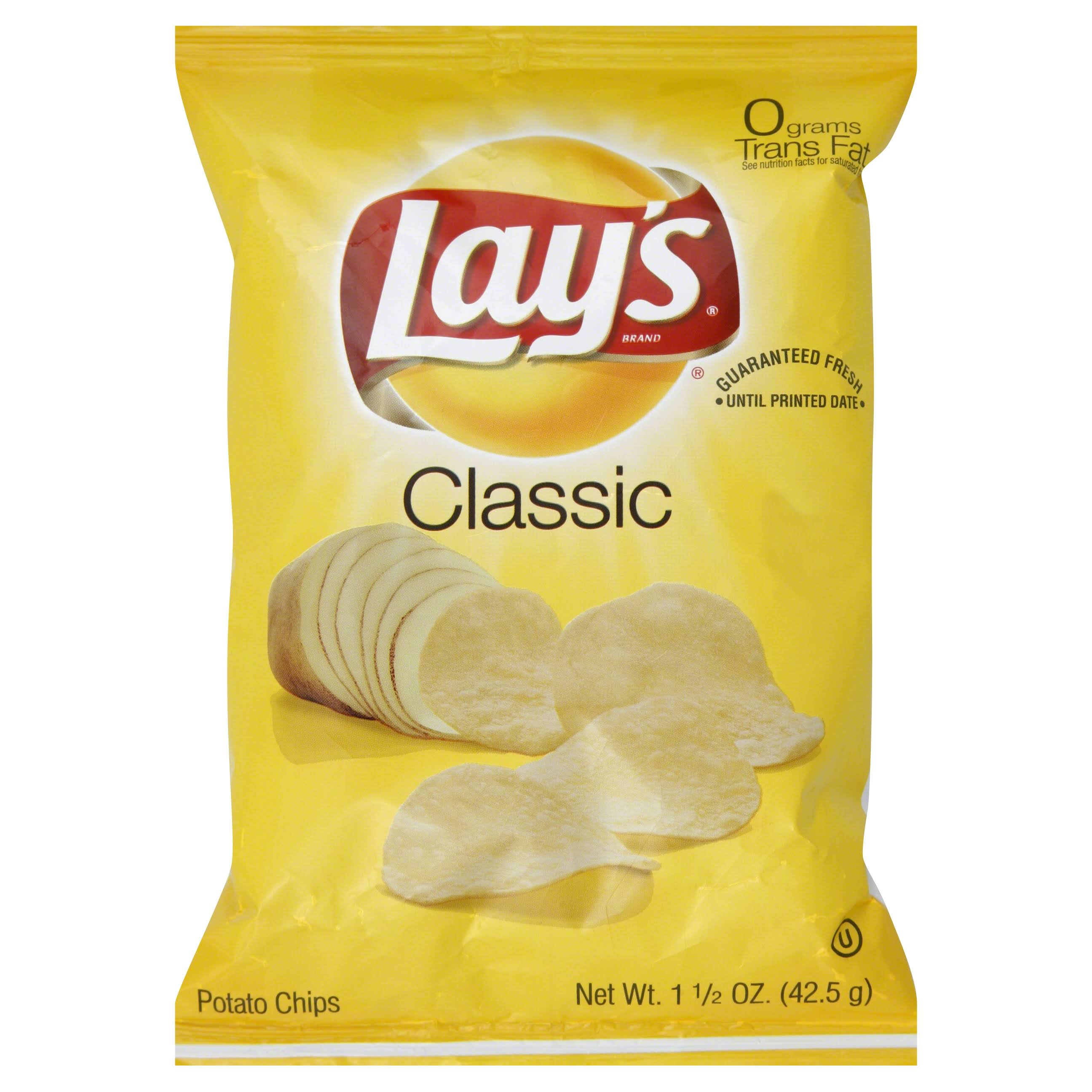 Lay's Potato Chips - Classic, 1.5oz