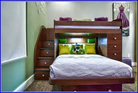 Raymour And Flanigan Bunk Beds by Twin Over Full Bunk Bed With Stairs And Trundle Bedroom Home