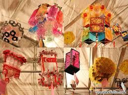 Recycle Materials Handicraft Lanterns Mid Autumn