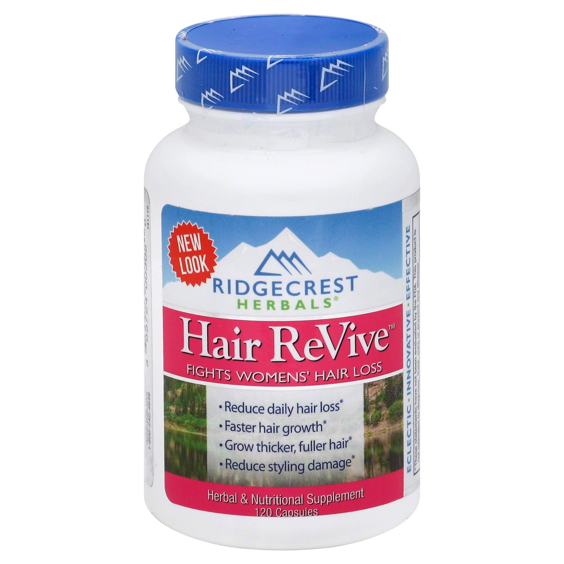 RidgeCrest Herbals Hair Revive Natural Defense