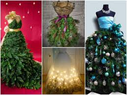 Hobby Lobby Xmas Tree Skirts by 35 Best Dress Form Christmas Trees Mannequin Christmas Tree
