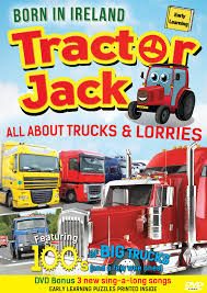 100 All About Trucks Tractor Jack Lorries DVD 2017