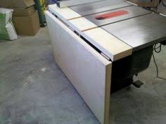 Sawstop Cabinet Saw Outfeed Table by Table Saw Outfeed Table Marcenaria Ferramentas Pinterest