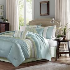 Madison Park Chester Green Blue 7 piece forter Set Free