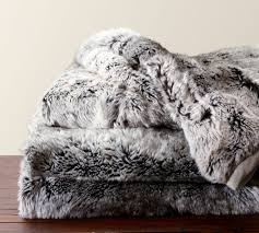 Faux Fur Throw, 50 X 60